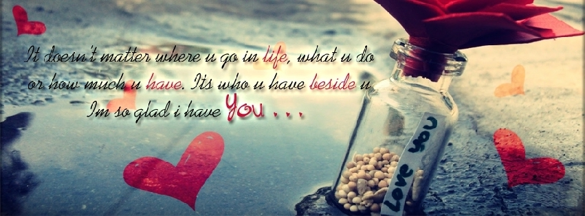 Cute Fb Covers Quotes. QuotesGram